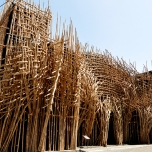 Joko Dwi Avianto's bamboo installation commissioned for ART/JOG/12