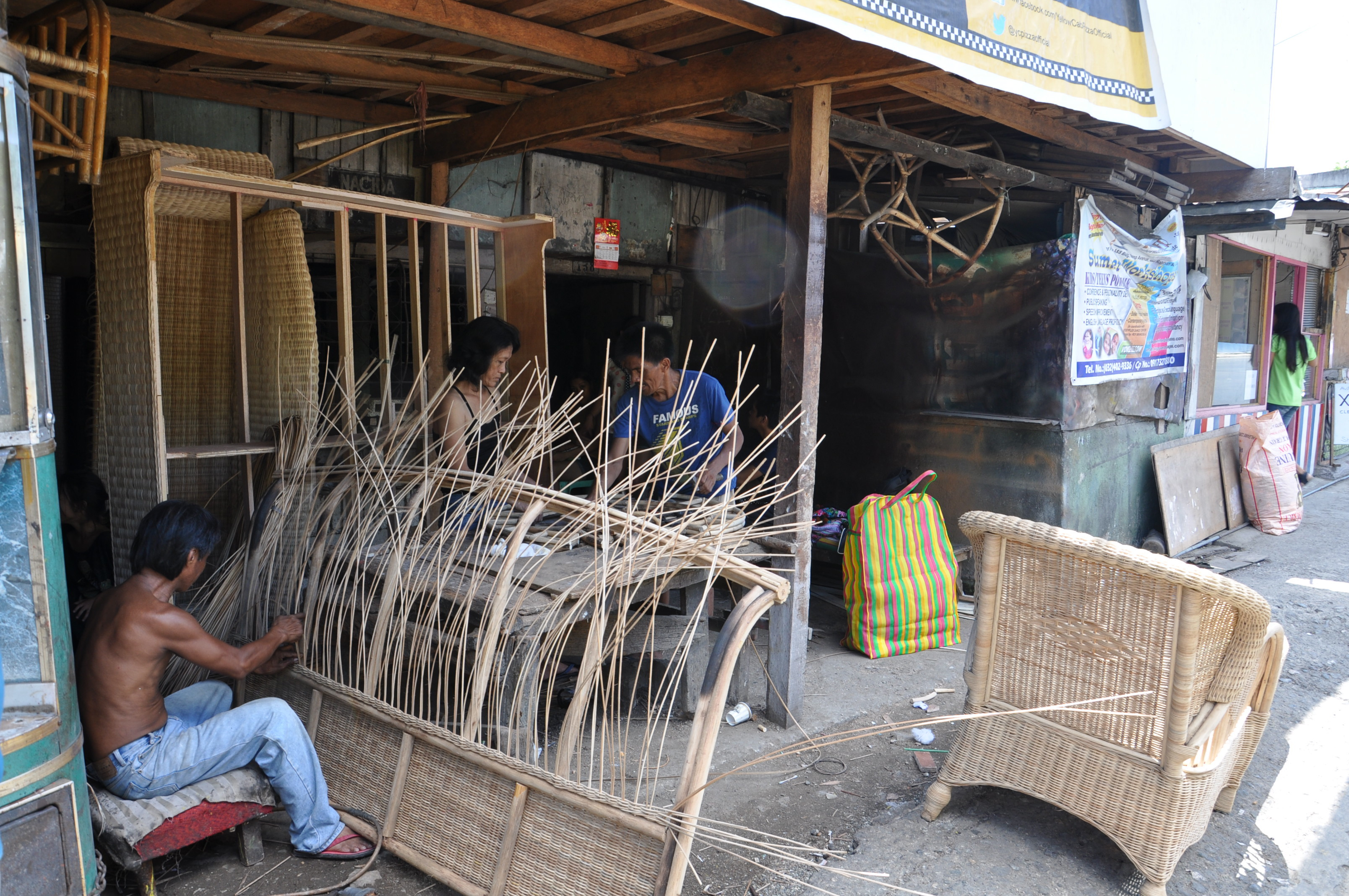 Cebu A Journey To The Home Of Rattan Furniture Making Pixels Fibre